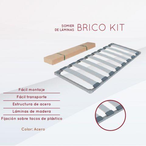 ELEGANT SOMIER DE LAMINAS BRICO KIT 90X190