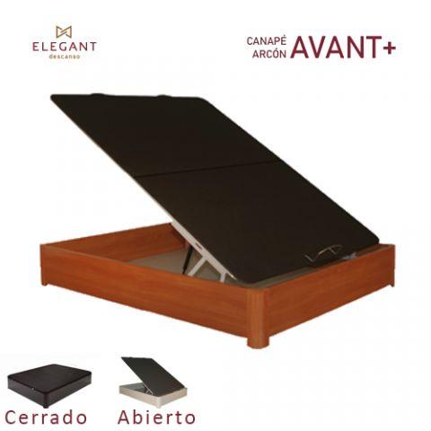 ELEGANT CANAPE ARCON 90X190 AVANT+ 3D CEREZO