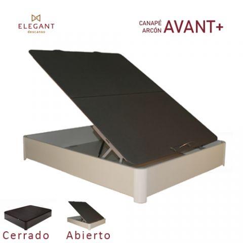 ELEGANT CANAPE ARCON 90X190 AVANT+ 3D BLANCO