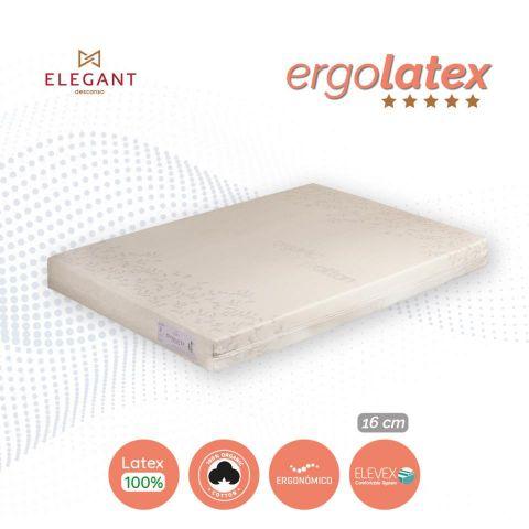 ELEGANT COLCHON ERGOLATEX 90X190 LATEX 100%