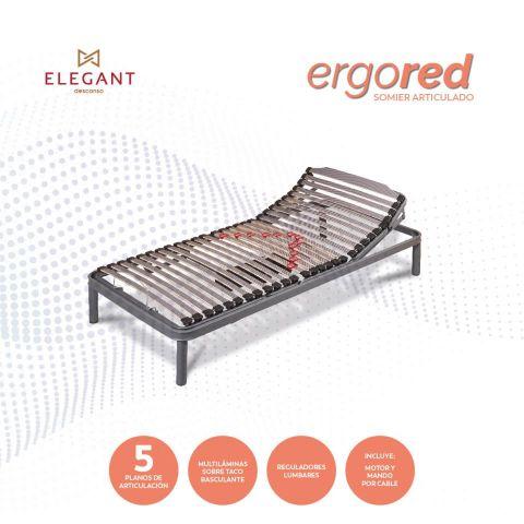 ELEGANT SOMIER ARTICULADO ERGORED 90X190