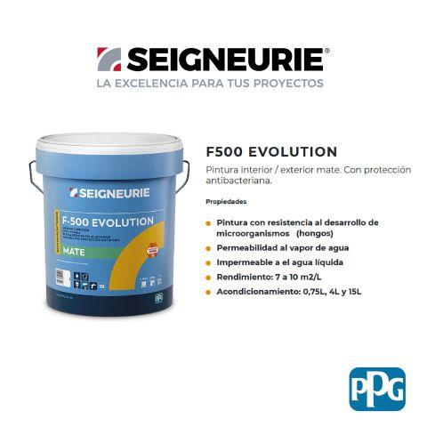SEIGNEURIE F-500 EVOLUTION 4L