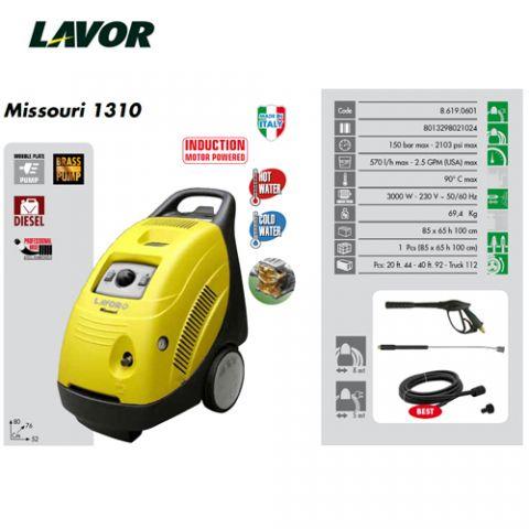 LAVOR HIDRO MISSOURI 1310-150BAR 570 L/H 90ºC 3KW