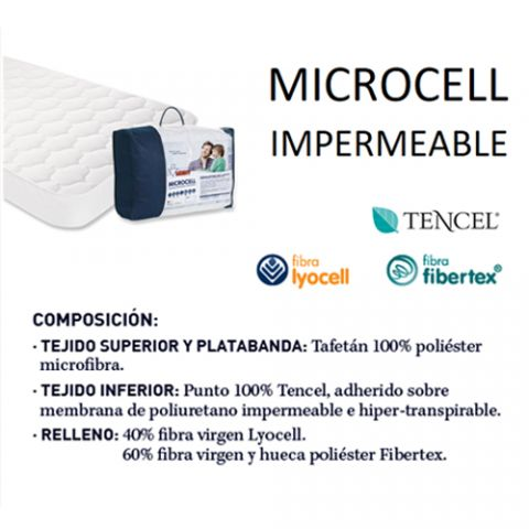 MOSHY PROTECTOR MICROCELL 90X180/190 IMPERMEABLE