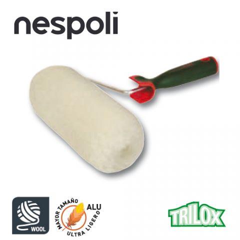 NPL RODILLO TRILOX LANA NATURAL 22CM Ø60MM